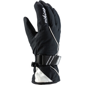 Viking Europe Tesera Gants de ski Femme, black white